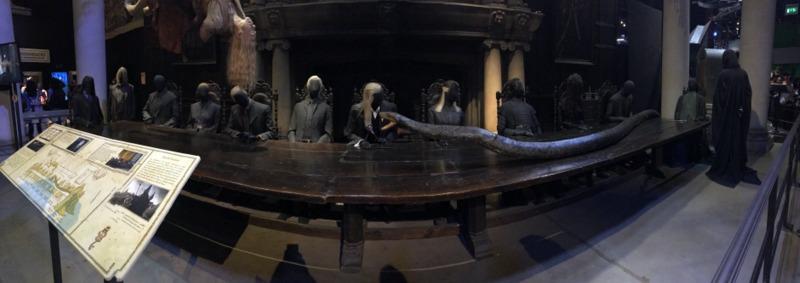 reunión de mortífagos con Voldemort HP
