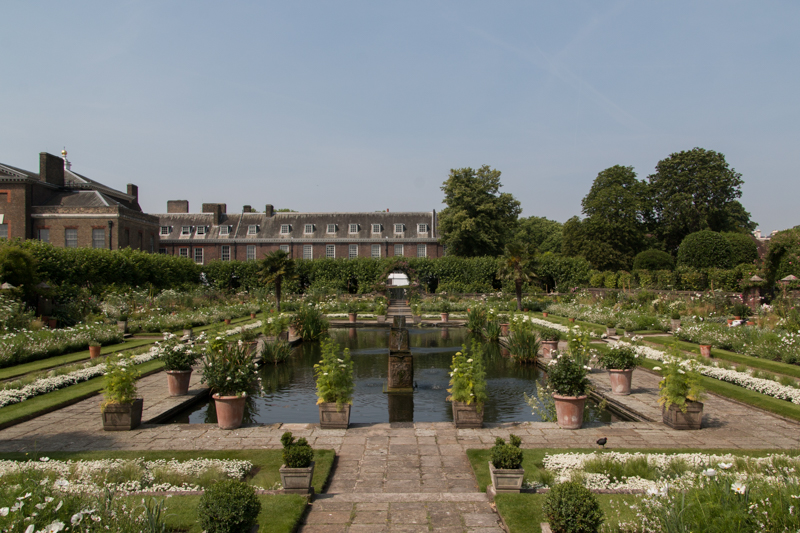 The White Garden de Kensington Palace 2