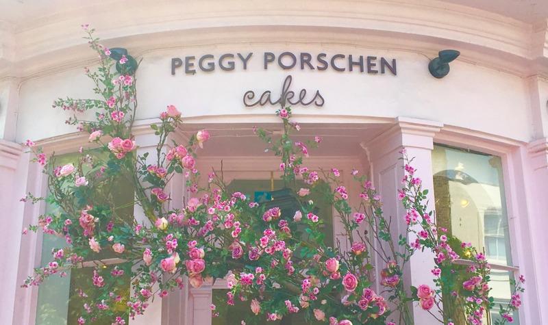 Peggy Porschen en Londres 1