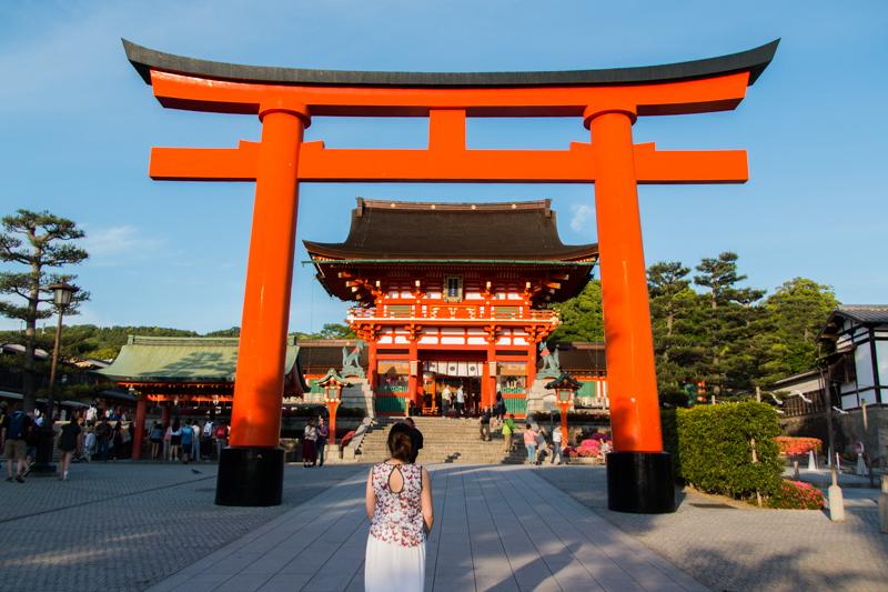 entrada Fushimi Inari 1