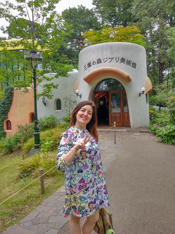 entrada Museo Ghibli Tokio
