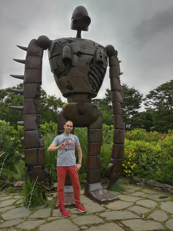 estatua terraza Museo Ghibli Tokio