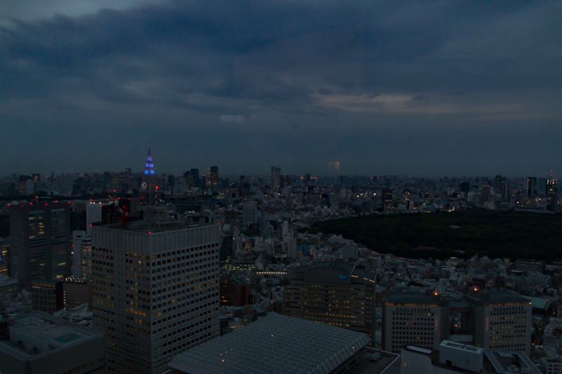 vistas desde el Tokyo Government Building 4