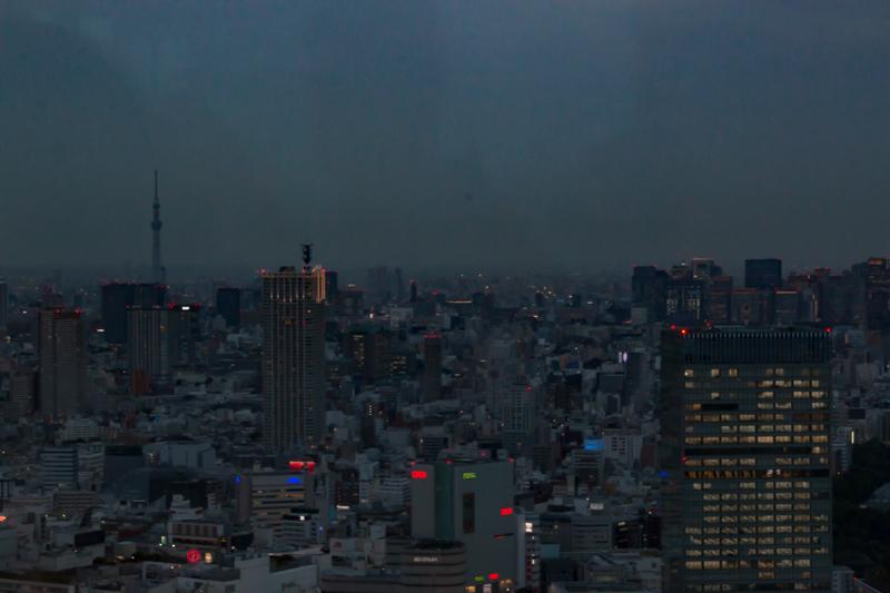 vistas desde el Tokyo Government Building 5
