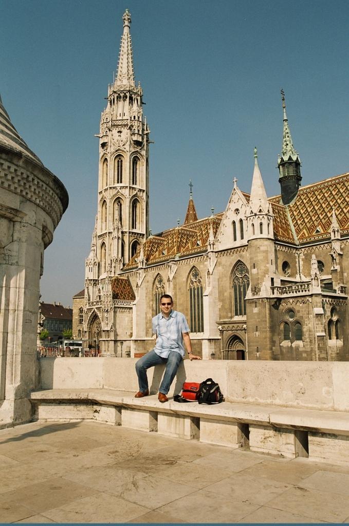 Iglesia de Matías Budapest 1