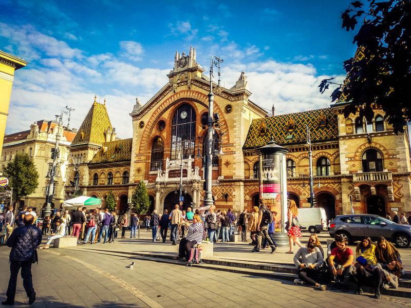 Mercado de Budapest 1