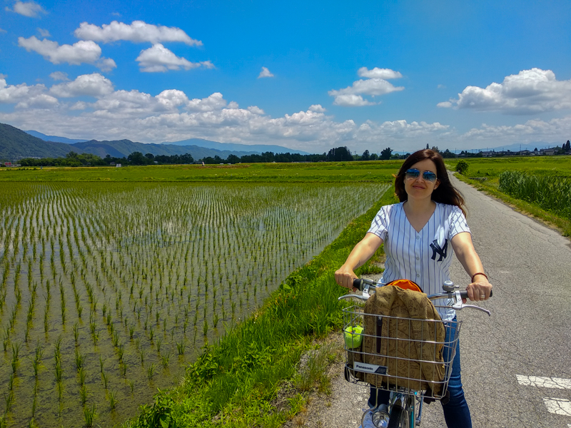 en bici por Japón 1