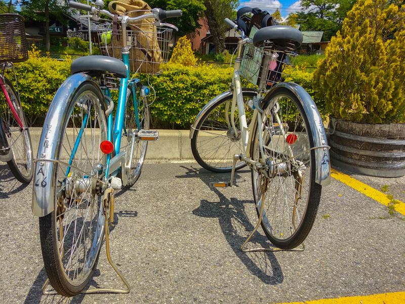 bicis en Japón