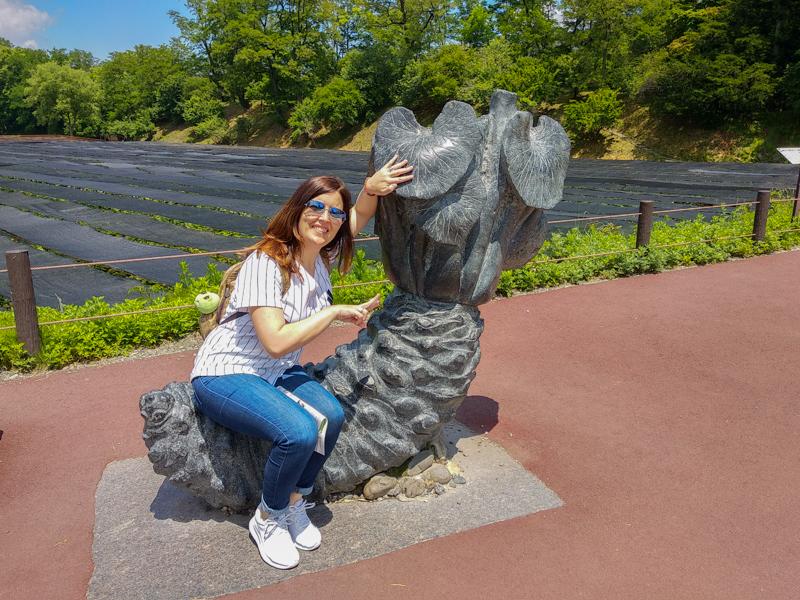 escultura de wasabi