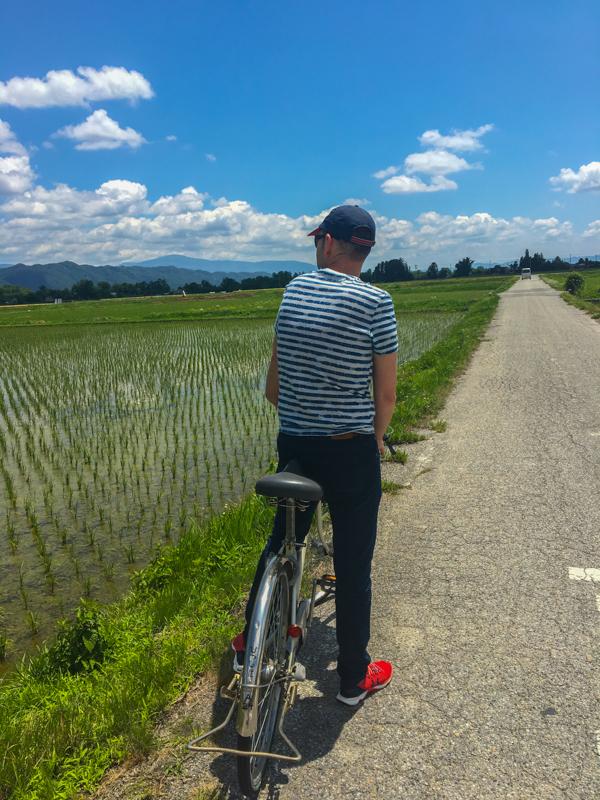 en bici por Japón 2