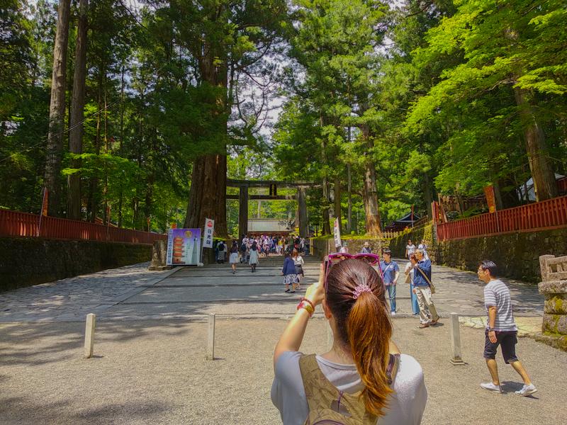 entrada Santuario Toshogu Nikko
