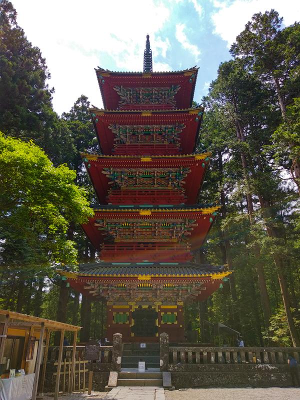 pagoda Santuario Toshogu Nikko