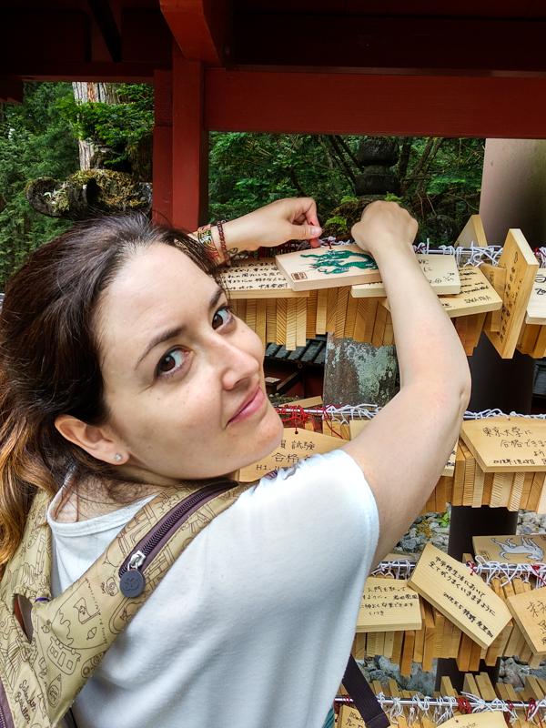 tablilla ema en el Santuario Toshogu Nikko 2