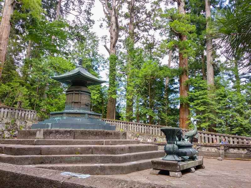 mausoleo del Santuario Toshogu Nikko 2