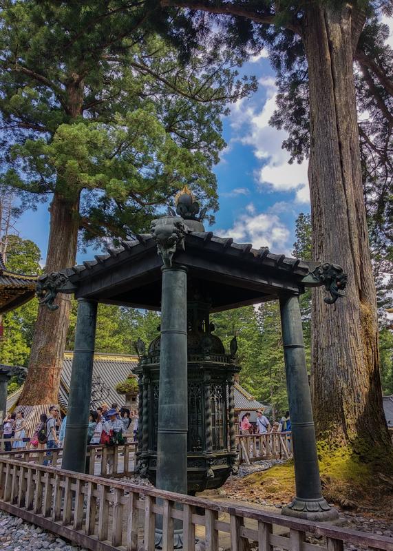 mausoleo del Santuario Toshogu Nikko