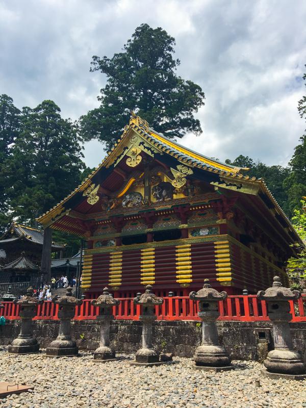 elefantes imaginados en el Santuario Toshogu Nikko