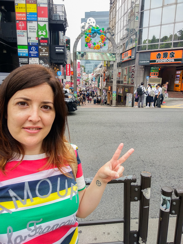 Takeshita Dori entrada