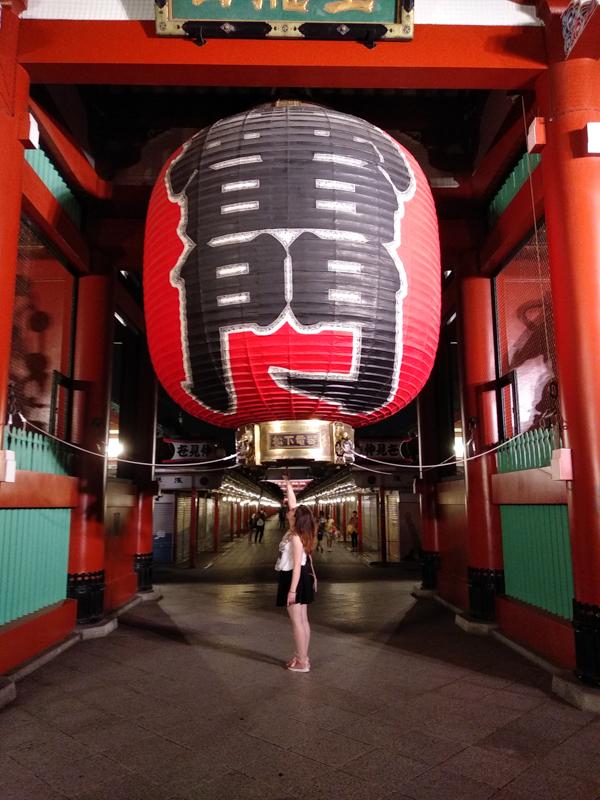 Senso-ji de noche