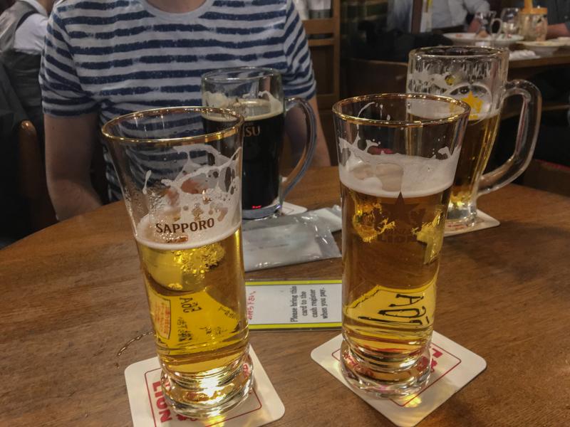 cervezas Ginza