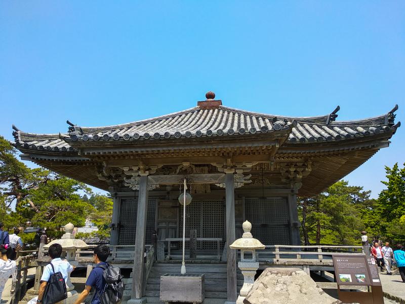 Templo Godaido en Matsushima