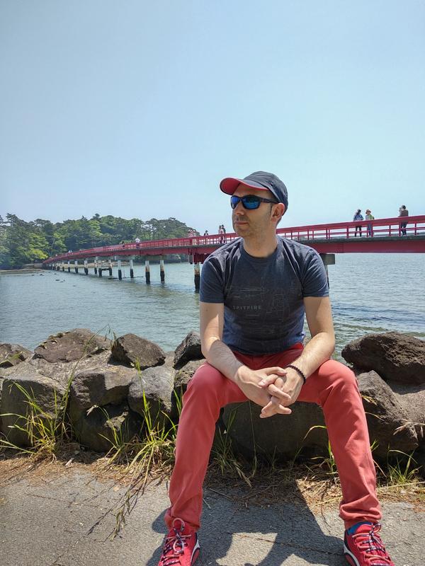 Sergio en el Puente Fukuurabashi 1