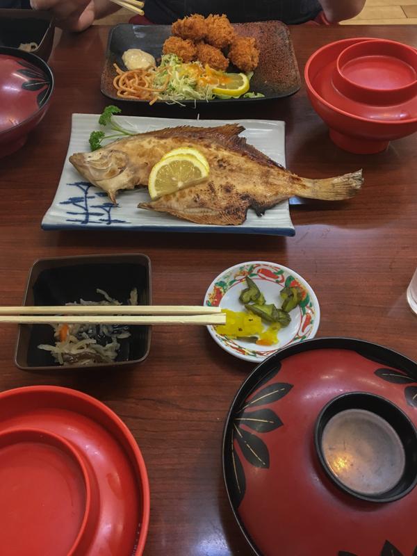 comida en Matsushima