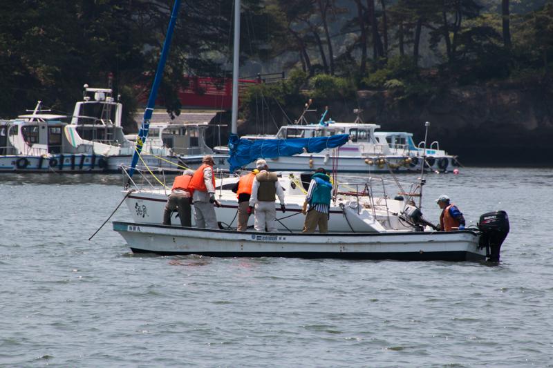 pescadores en Matsushima 1