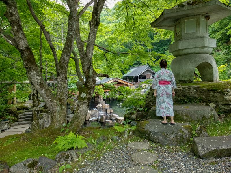 exterior del Takaragawa Onsen 1