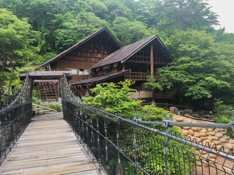 puente del Takaragawa Onsen 1