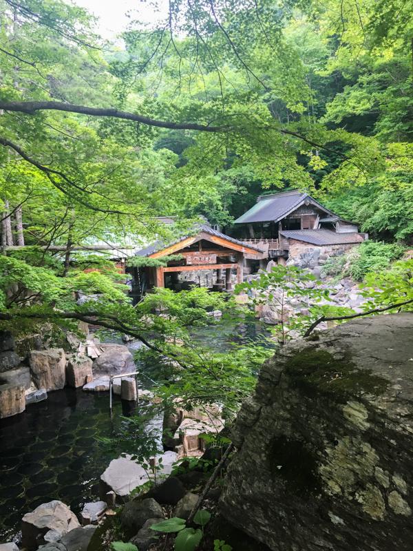 exterior del Takaragawa Onsen 2