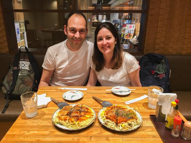 okonomiyaki en Tokio