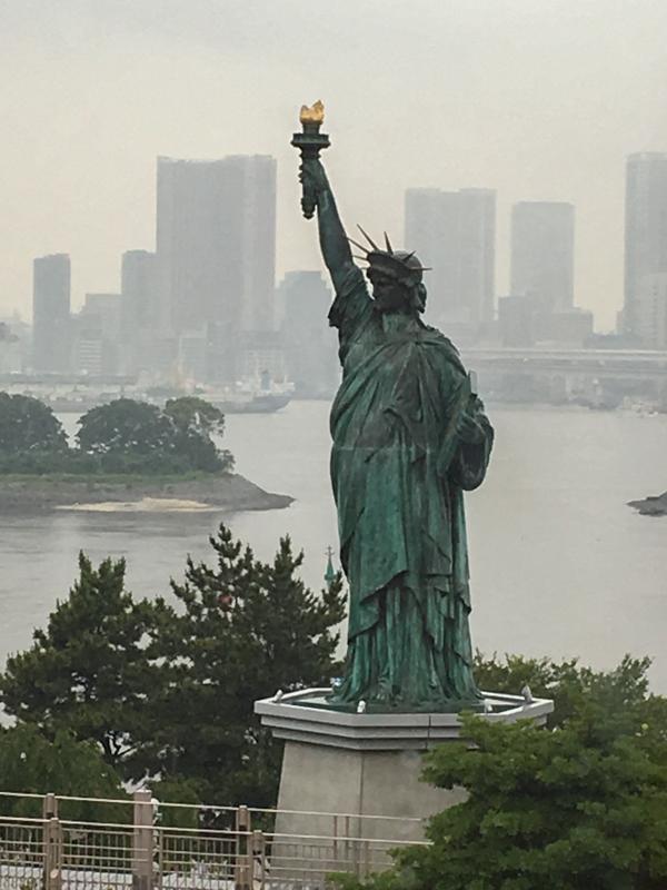 Estatua de la Libertad Odaiba